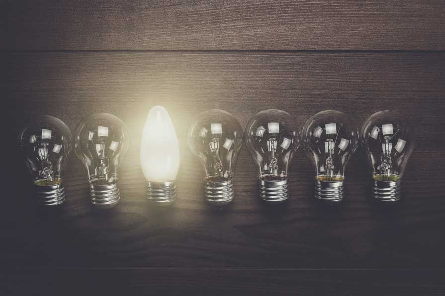 glowing-bulb-uniqueness-concept