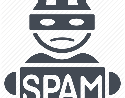 spam icon, email marketing